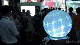 多媒體投影球(球形顯示)