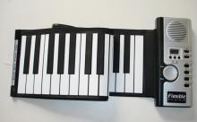 硅胶及便携式电子琴