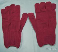工作紅手套