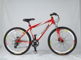 鋁合金變速山地自行車