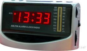 LED鐘控收音機
