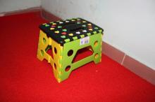 小圓點/彩色桃心面塑料折疊凳