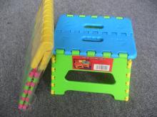 18CM塑料折疊凳