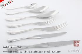 供应不锈钢刀叉勺餐具 酒店西餐刀叉更匙用品 广州钰狐金属制品厂