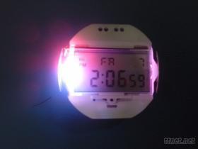 CA電子表七彩機芯