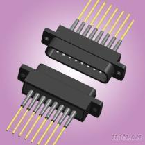 矩形光纖連接器