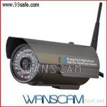 紅外防水無線網絡攝像機