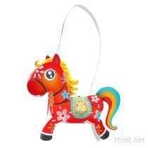 DIY千里馬造型燈籠