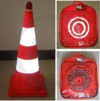 【廠家批發】伸縮路錐/交通路錐/交通安全標志路錐