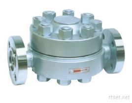 KRF3法兰高压圆盘式蒸汽疏水阀