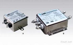 單相雜訊電源濾波器