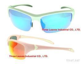 防風護目眼鏡,可換鏡片運動太陽眼鏡