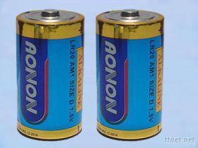 D型大號鹼性乾電池