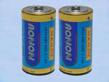 C型二號鹼性乾電池