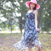 雪紡連衣裙