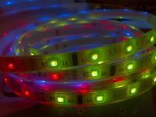 LED 6803全彩跑馬矽膠防水軟性燈帶
