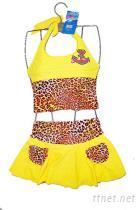 女孩套装泳衣