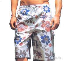 男士海灘褲