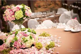 婚礼布置-桌花