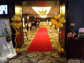婚禮佈置-入口區(汽球)
