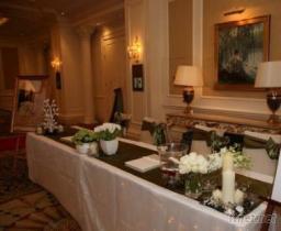 婚禮佈置-接待區(花藝)