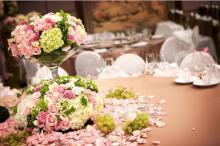 婚禮佈置-桌花