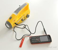 太陽能手電筒收音機