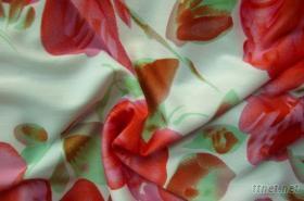 涤纶印花针织布