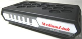 網管型乙太網路光電交換器