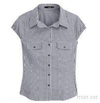 女士無袖休閒襯衫