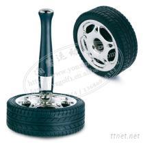 汽車輪胎筆座