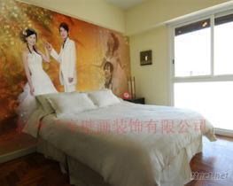 大幅面婚紗壁畫