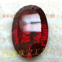 红刚玉人造红宝石