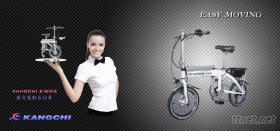 遙控電動摺疊自行車