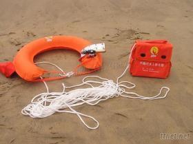 手拋式水上救生器