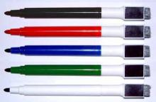 磁鐵板擦白板筆