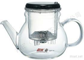 耐高温玻璃泡茶壶