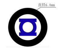 6.8MM圓形投影片