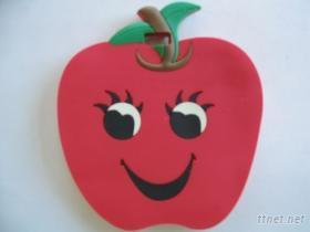 PVC蘋果行李吊牌