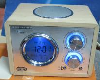 紅木萬年曆, 收音機