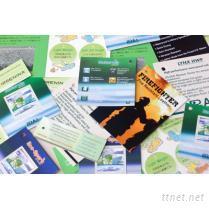 目录印刷-各式吊牌纸卡