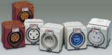 防水工业插座、五防工业插座