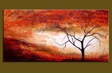 抽象裝飾畫, 現代無框畫, 風景油畫