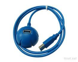 USB 3.0半球型連接線
