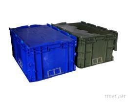 物流箱, 可堆式物流箱