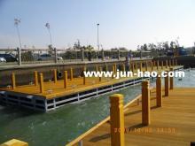水上平台, 浮筒平台, 浮筒碼頭