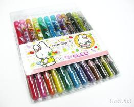 (比妮兔) 12色旋轉蠟筆