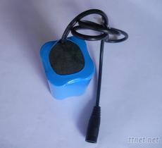 自行車尾燈鋰電池7.4V