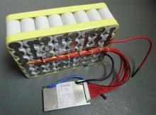 電動車48V鐵鋰電池9AH