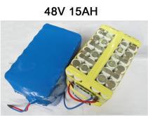 48V電動車鐵鋰電池15AH
